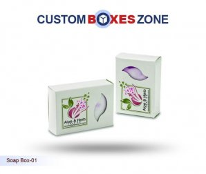 Get the Best Custom Soap Boxes with a Unique Packaging Design