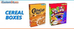 Custom Cereal Boxes-Top Custom Printed Food Packaging Wholesale