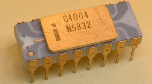 Intel 4004, the first CPU, is almost 50 years old!