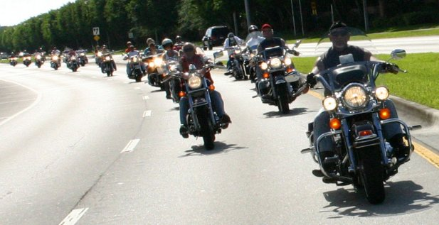 Group Motorcycle Riding for Beginners