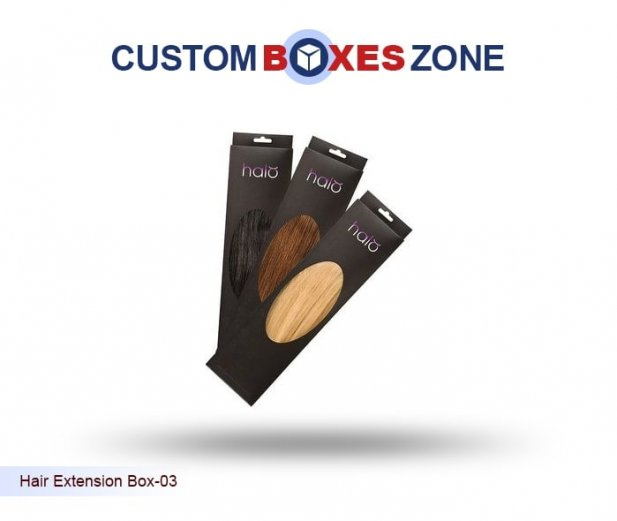 Custom Hair Extension Boxes - Most Attractive Feature