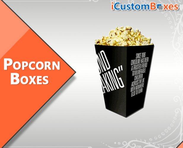 Custom Popcorn Boxes Wholesale-Food Packaging Custom Wholesale