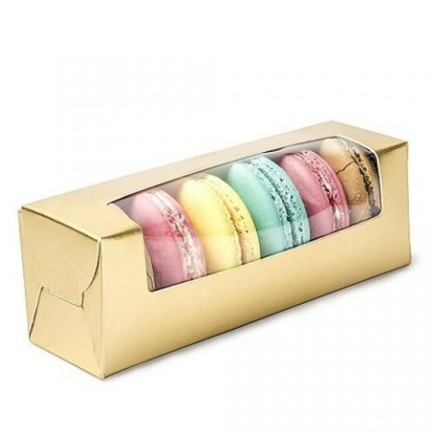 Impressive Macron Boxes; Perfect to Present as Gift.