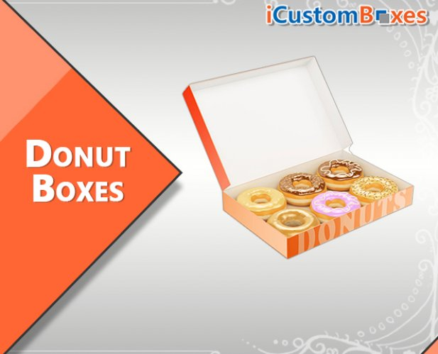 Custom Donut Boxes Wholesale Rate Available