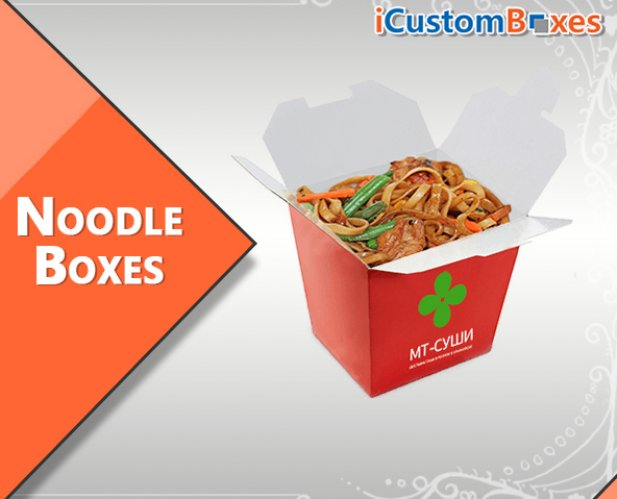 Custom Noodle Boxes-Amazing and Eye-Catching Packaging