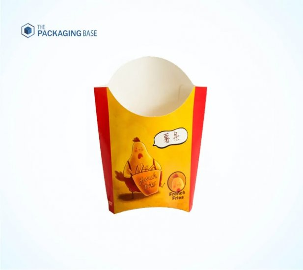 Get Custom French Fry Boxes Wholesale With Free Design